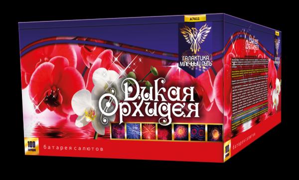 """А7611 Батарея салютов """"Дикая орхидея"""""""