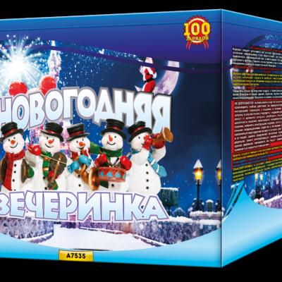 """А7535 Батарея салютов """"Новогодняя вечеринка"""""""