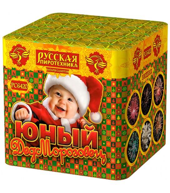 """РС614/РС6420 Батарея салютов """"Юный дедморозовец"""""""