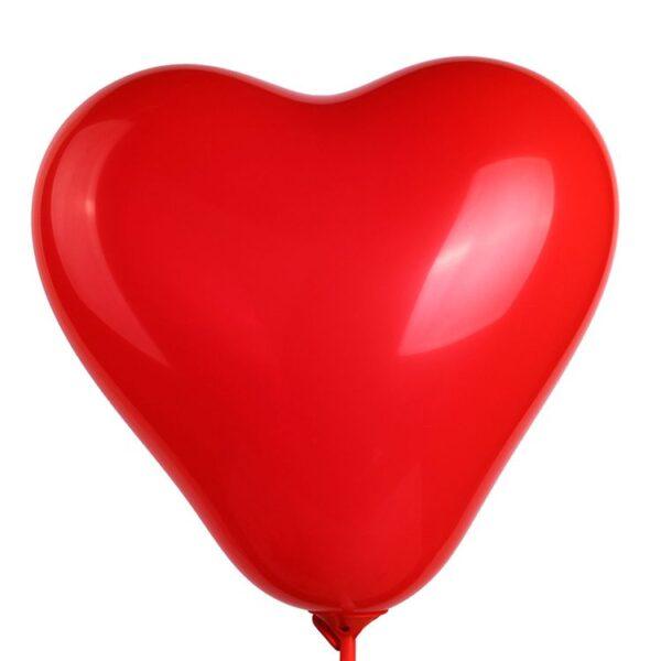 M 16″/40см Сердце Пастель RED