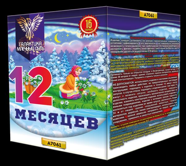 """А7061 Батарея салютов """"12 месяцев"""""""
